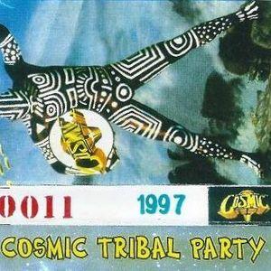Cosmic Station by Daniele Baldelli C\0011 - 1997 Cosmic Tribal Party Lato A