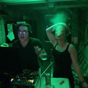 DJ UNC 9 o'clock shot