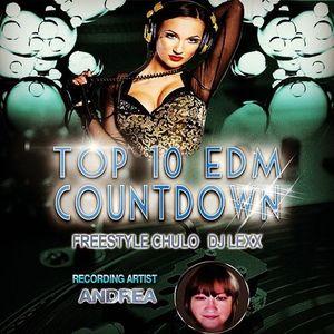 Top 10 EDM Countdown - April 7, 2015 - Special Guest Andrea Martin