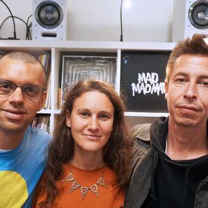 Drummers Inc: Bex Burch with Leon Brichard & Magnus Mehta // 30-09-19