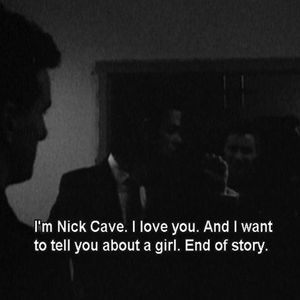 nick cavern composition absolutely love songs