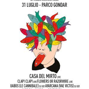 Protopapa opening set at FUCK NORMALITY FESTIVAL - Parco Gondar 31072014