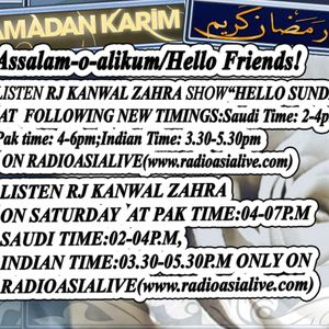 *Saturday Show With Rj Kanwal(Month Of July[Ramzan]Part2)