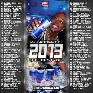 VA-Dj WhaGwaan - The Best Of 2013 (Promo Cd) 2014