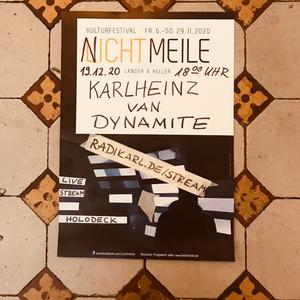 Karlheinz van Dynamite Live at Holodeck (NICHTMEILE)