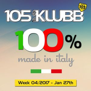 100% MADE IN ITALY WEEK 04-2017