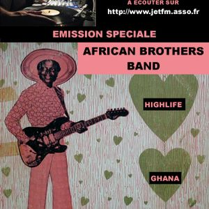 EMISSION de BLACK VOICES spéciale AFRICAN BROTHERS BAND (Ghana highlife) dans l'ODYSSEE DU SHAKTI