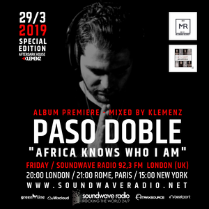 AfterDark House with kLEMENZ ˝SPECIAL EDITION: Paso Doble Album Premiere (29/3/2019)