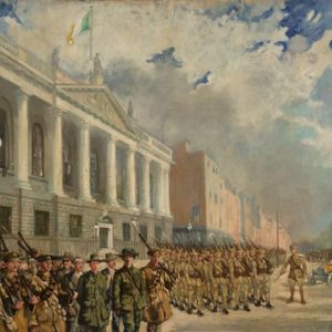 The Arrest of Countess Markievicz 1916
