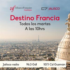 Destino Francia 19 de septiembre de 2017