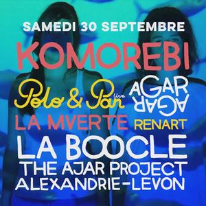 TALENT TU EUX #2 SAISON 4 // Carte Blanche à KOMOREBI Sam. 30 Sept. // Festival DETONATION 2017