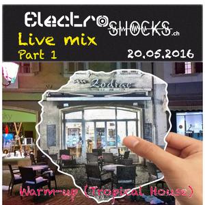Live mix au Zodiac - 20.05.2016 - Part 1