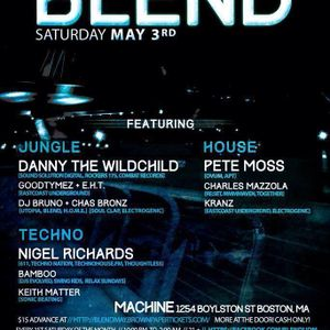 Live from Boston, part two:  Machine Nightclub, BLEND party, May 2014