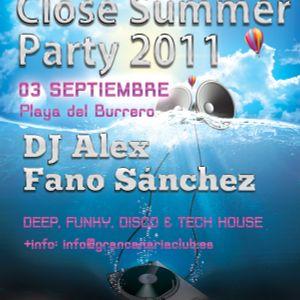 Fano Sanchez - Close Summer Party Septiembre 2011