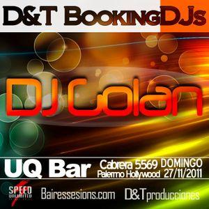 DJ Golan @ BookingDJs @ UQBar (27/11/2011)