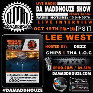 Da Maddhouze sits down with Lee West on KPOO 89.5 FM