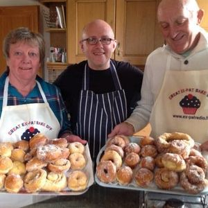 The Great Expat Bake Off With Jerome & Doreen making donuts 9th Jan 2017
