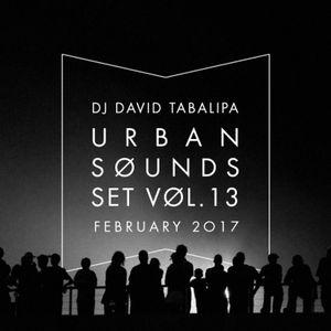 Urban Sounds Set Vol. 13 - February 2017