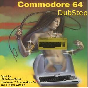 Live Mini Xmas DJSet w/ 2 commodore64 and 1 mixer (8 bit Mix Chiptune Dubstep)