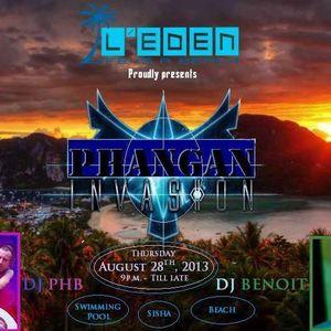 Mix Benoit C. L'Eden Beach Club Samui 29-08-2013