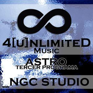 4[u]nlimiteD Music pres. ASTRO (TERCER PROGRAMA COMPLETO) Domingo 02 de Agosto