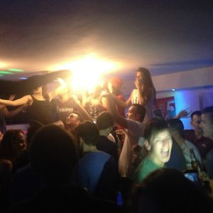 CDj Cristian-Daniel on Tuesday @ Le Kub (Serre Chevalier-France) 2014-01-07