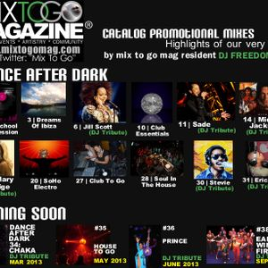 """DJ FREEDOM - DANCE AFTER DARK 32a - """"SOULFUL GROOVES"""""""