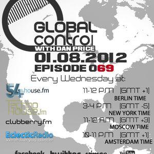 Dan Price - Global Control Episode 069 (01.08.12)