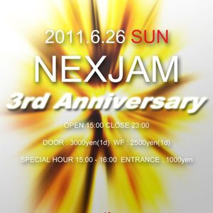 NEXJAM 3rd Anniversary @clubasia