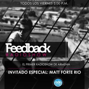 Matt Forte Río @The Feedback Radio Show (Dance Machine & Feedback Records)