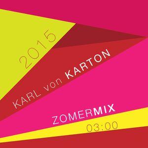 Karl von Karton - Summer Mix 2015 (all Karton tracks and 1 NEW unreleased track!)