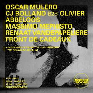 Oscar Mulero - Live At Boiler Room (Belgium) - 12-Jan-2018
