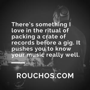 Rouchos - December 2017 - Vinyl Only DJ Mix