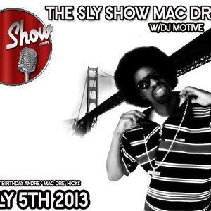 MAC DRE MIXSHOW! 72 MINS W/ DJ MOTIVE! VALLEJO! R.I.P!!!! [TheSlyShow.com]