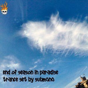 End of Season in Paradise Trance set