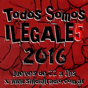 TODOS SOMOS ILEGALES 14-04-2016