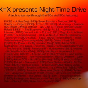 Night Time Drive - A techno journey through the 80s and 90s