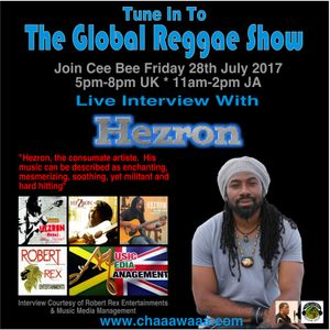 Cee Bee Global Reggae Show 056 28-07-2017