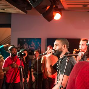 Ty & Amy True With The Ezra Collective at Sonos Studio London