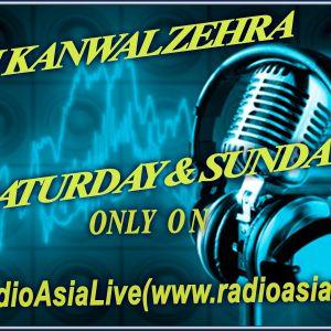Rj Kanwal Saturday show**:)