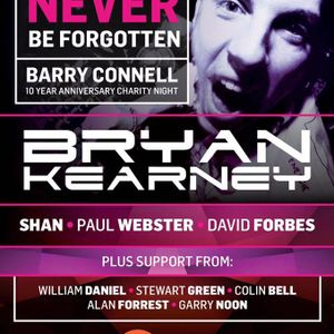 Paul Webster Live @ Barry Connell 10 Year Anniversary @ SWG3 Warehouse, Glasgow, Scotland 12-05-2018