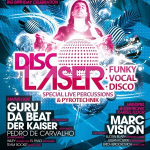 Turntable Reloaded - The FRESH ClubNight - Session 112 DISCOLASER-AMBER FLOOR SPEZIAL vom 25.8.12