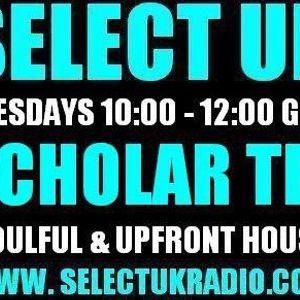 Scholar Tee SelectUK Radioshow 26.04.2011 + tracklisting