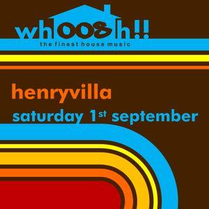 HenryVilla - Live On 'Whoosh!!', Onlyoldskool Radio 01.09.2012