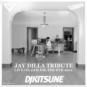 DJ Kitsune - Jay Dilla Tribute Mix (Live on Jam FM, Feb 8th 2012)