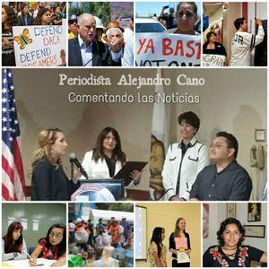 """11/14/17 PODCAST -COMUNIDAD CALIFORNIA- Periodista Alejandro Cano """"Comentando las Noticias"""""""
