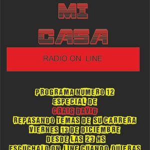 DESDE MI CASA N12-ESPECIAL CRAIG  DAVID 13-12-13