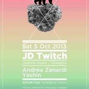 open party JD TWITCH dj set by Yashin