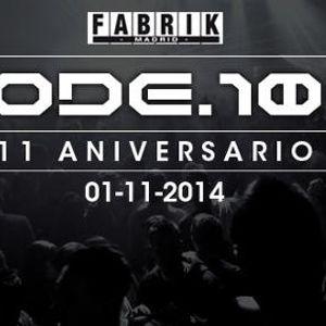 Pet Duo  -  Live At CODE 100, Fabrik (Madrid)  - 01-Nov-2014