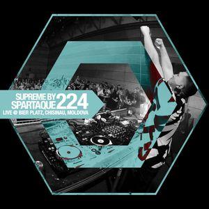 2016-03-24 - Spartaque - Supreme 224 (Live @ Bier Platz, Chisinau, Moldova 2016-03-18)